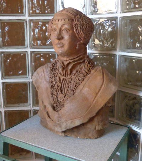 Juan la Beltraneja - Estatua en Alaejos