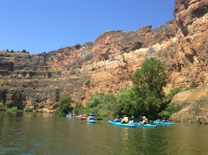 Piragüismo en las Hoces del Río Duratón, Grupo