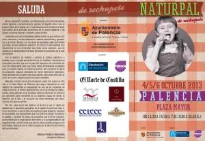 Cartel Naturpal Palencia 2013