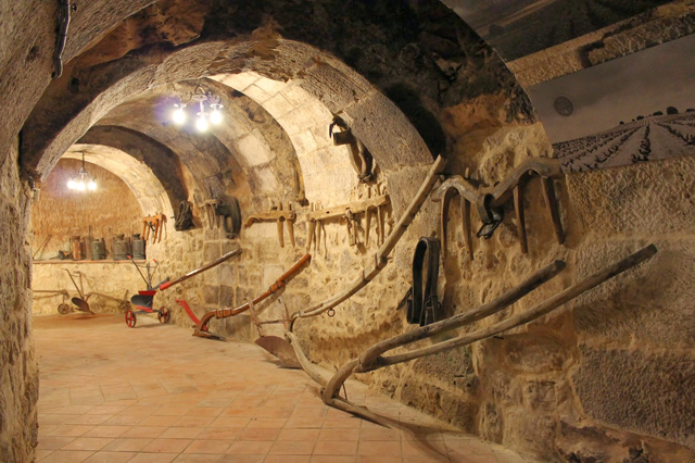 bodegas subterráneas de Aranda de Duero
