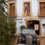 Fachada del Hotel Vado del Duraton