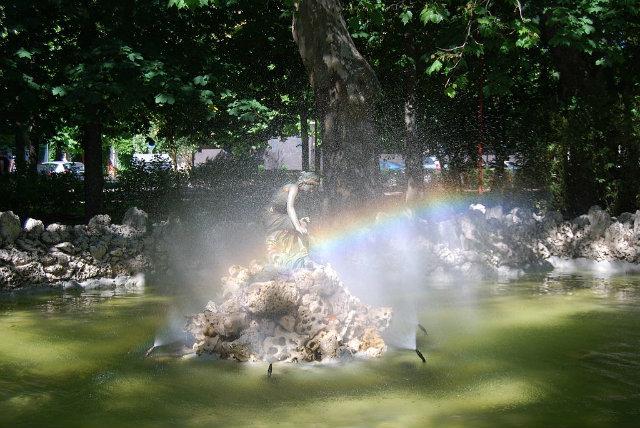 Estanque del Paseo de Isla en Burgos