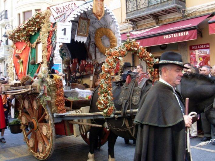 Concurso Carros engalandos Fiestas de San Froilan León - Fuente: www.minube.com