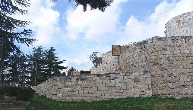 exterior del Castillo de Burgos