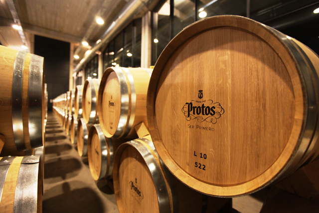 visita a Bodegas Protos Foto: J. Ricardo Fernández www.gastrolopia.com