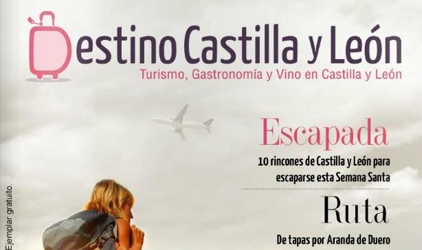 Revista Destino Castilla y León, portada
