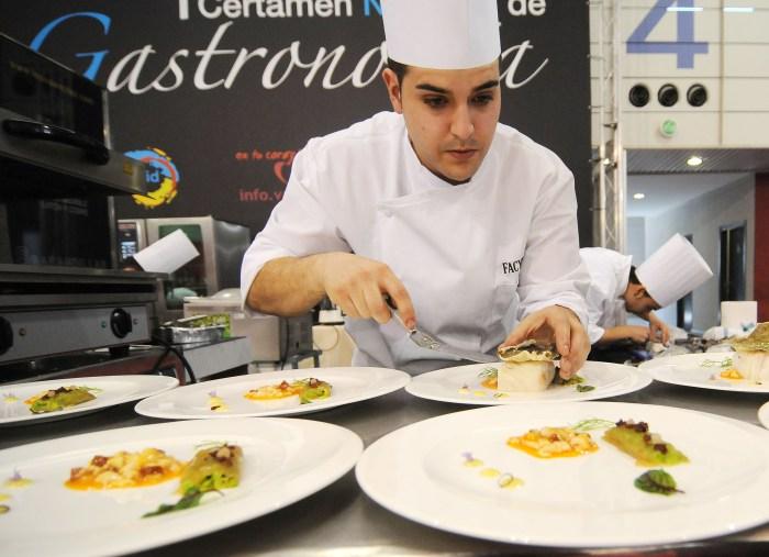 certamen gastronomico en Alimentaria Castilla y León 2015