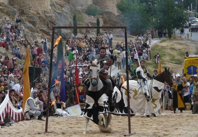 Caballero en duelo - AvilaMedieval 2015 - Destino Castilla y León