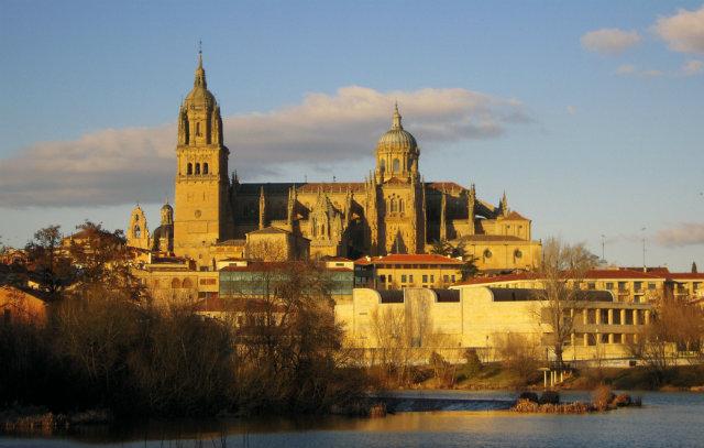 Salamanca al atardecer Fuente: salamanca-salamanca2013.blogspot.com