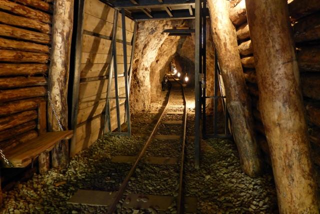 Interior de la segunda mina - Destino Castilla y León