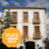 Consigue un 3% dto y minibar gratis en el Hotel Vado del Duratón
