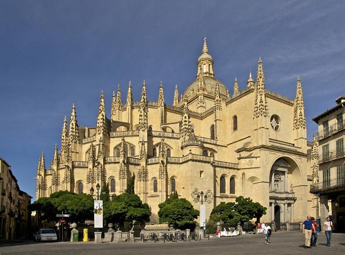 Guía para visitar Segovia (Parte II) La catedral de Segovia