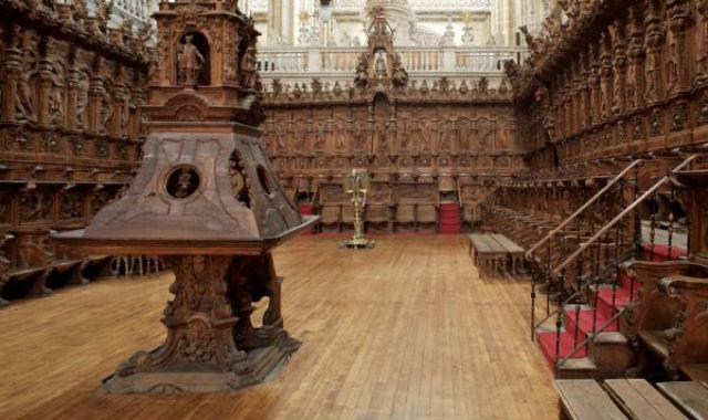 Sillería y Coro de la Catedral nueva de Salamanca