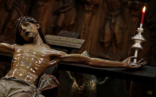 Cristo de la Agonía Redentora - Imagen de Salamanca al día