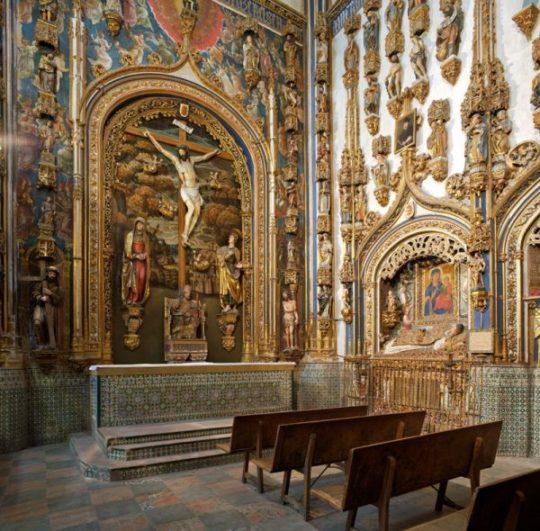 Capilla dorada - Imagen de SalamancaPasoAPaso