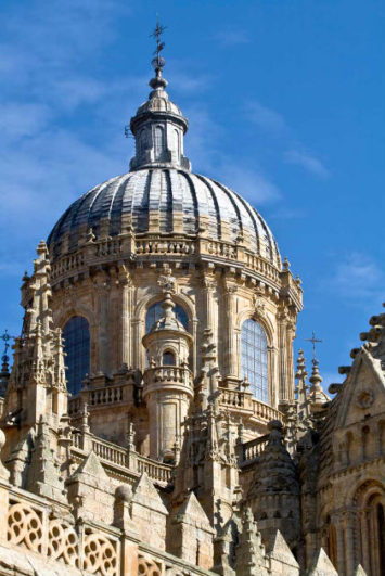 Cimbrorrio de la Catedral nueva de Salamanca - Imagen de CatedralSalmanca