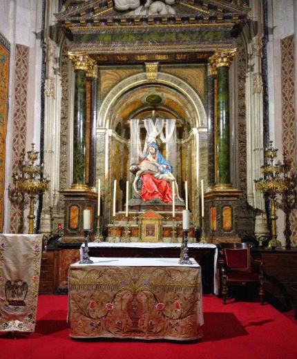 Capilla de la Piedad de la Catedral de Salamanca - Imagen de Guías de Salamanca