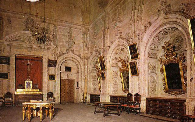 Sacristias de la Catedral nueva de Salamanca - Imagen de LituirgiaNet