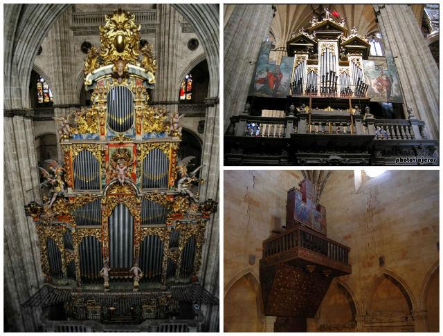 Órganos de la Catedral de Salamanca - Destino Castilla y León