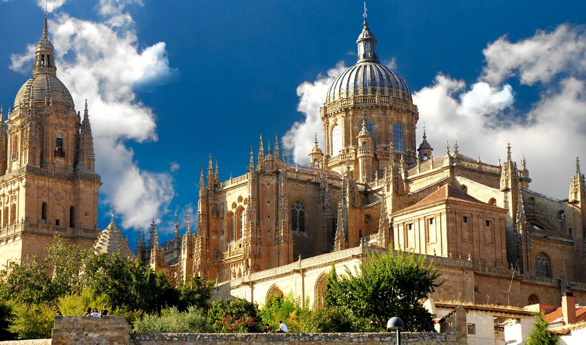 Catedral nueva de Salamanca - Destino Castilla y León