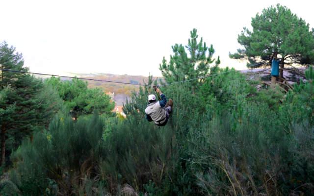 Parque de Aventuras Las Batuecas, Salamanca - Fundación Patrimonio Natural