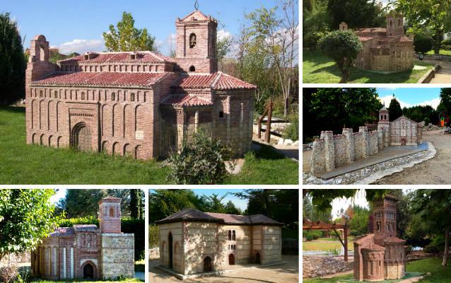 Algunas maquetas a escala del Parque temático del Mudejar - Destino Castilla y León