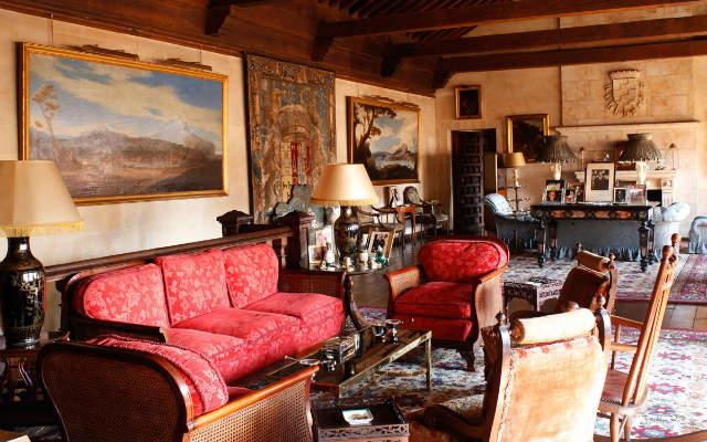 Interior del palacio de Monterrey - Imagen de Vanity Fair
