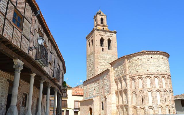 Iglesia mudéjar de San Martín de Arévalo - Destino Castilla y León