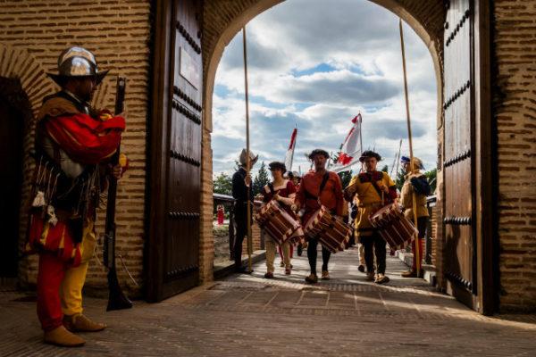 Semana Renacentista - Espectáculo en la plaza mayor de Medina del Campo