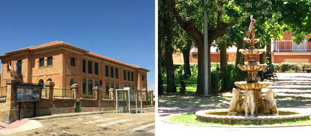 Escuelas y jardines del Cea en Mayorga - Destino Castilla y León