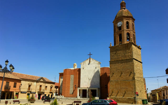 Iglesia del Salvador de Mayorga - Destino Castilla y León