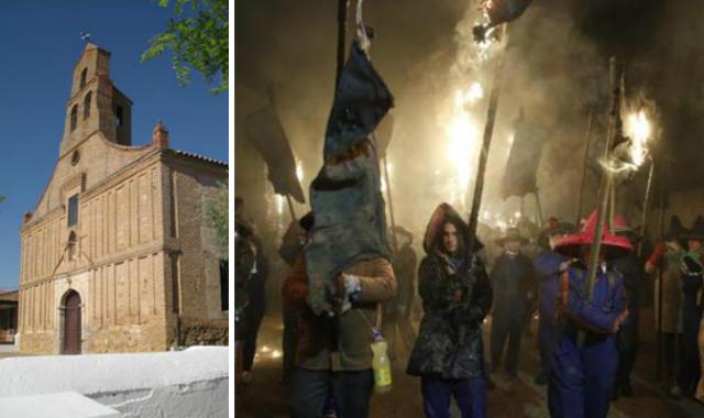 Ermita de Santo Toribio y la procesión de El Victor - Destino Castilla y León