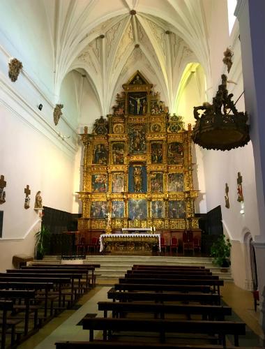 Interior de Santa María de Olmedo - Destino Castilla y León