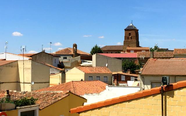 Vista de los tejados de Mayorga - Destino Castilla y León