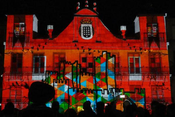Primer Festival de Videoarte y Mapping de Castilla y León en Medina del Campo - Semana Renacentista