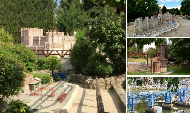 Maquetas del Parque Temático del Mudéjar en Olmedo - Destino Castilla y León