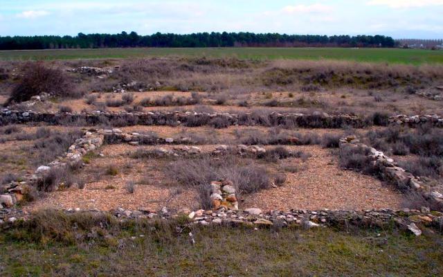 Yacimiento arqueológico de la Villa romana de Santa Lucía en Aguilafuente - Imagen de Mapio