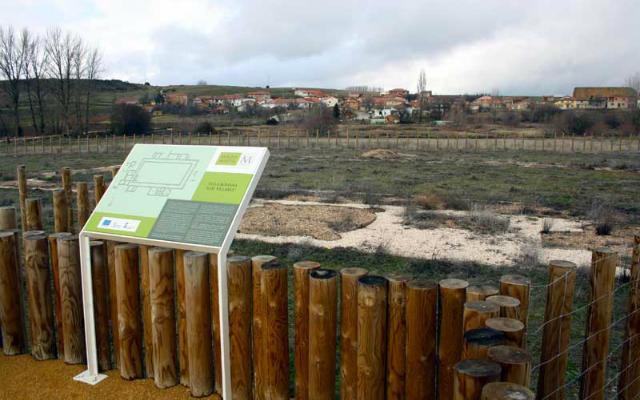 Yacimiento arqueológico de la villa romana de Los Villares - Imagen de GuíaSoria