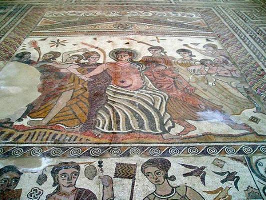 villas romanas de castilla y león