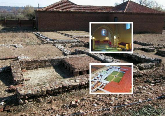 Villa romana de Navatejera - Composición de Destino Castilla y León sobre Imagen de TerraeAntiqvae