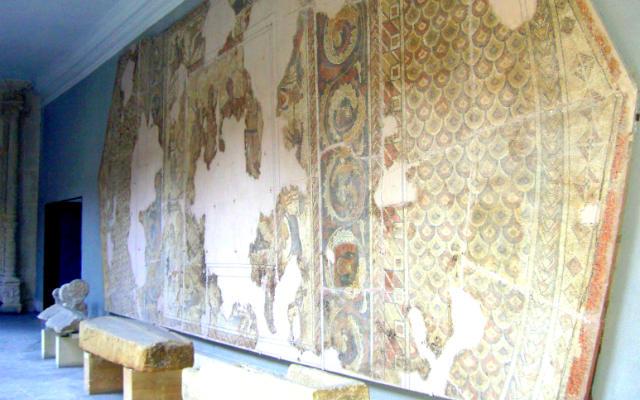 Restos de los mosaicos de la Villa de Cardeñajimeno - Ecos de Bardulia