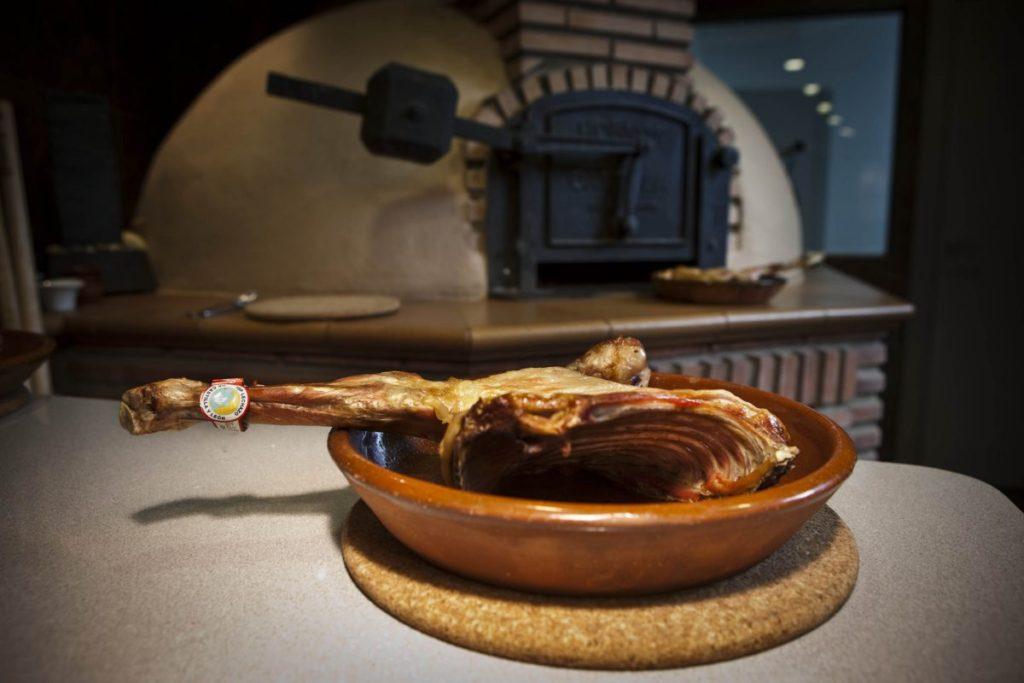 lechazo asado horno