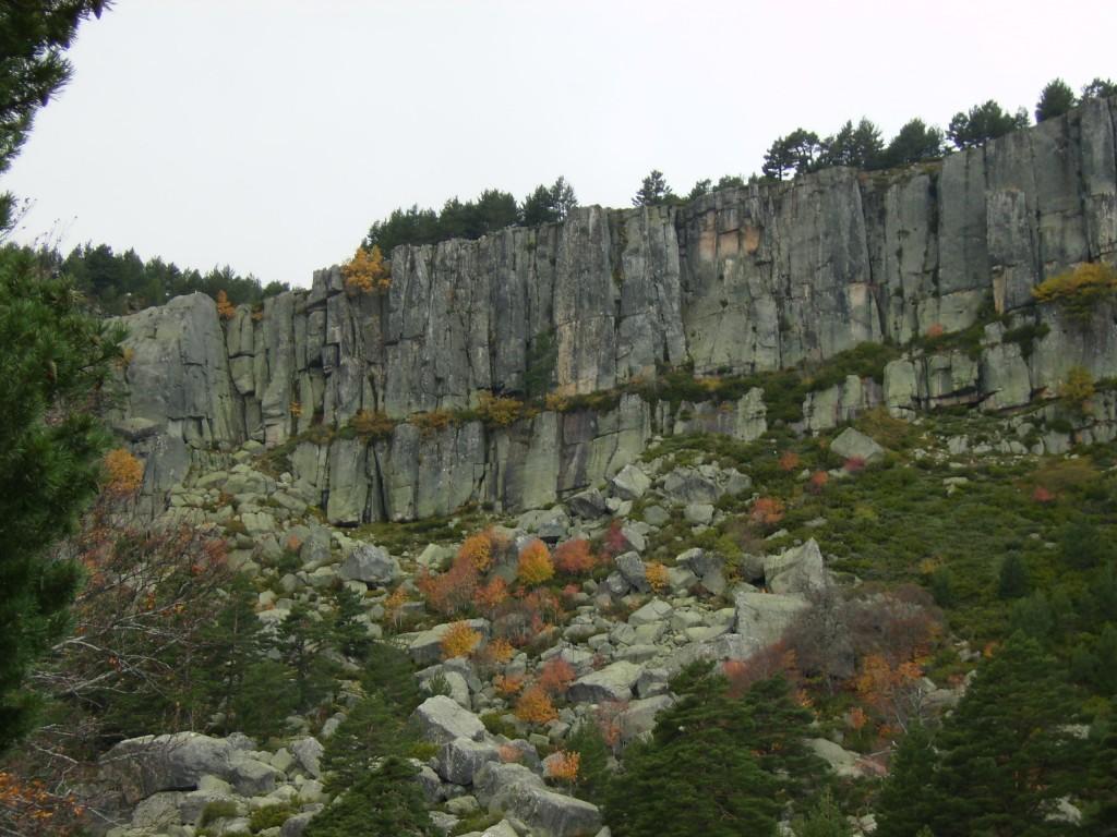 Círculo de piedra de la Laguna Negra