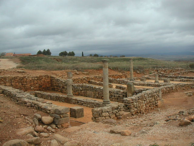 Ruinas de Numancia, casa romana - Destino Castilla y León