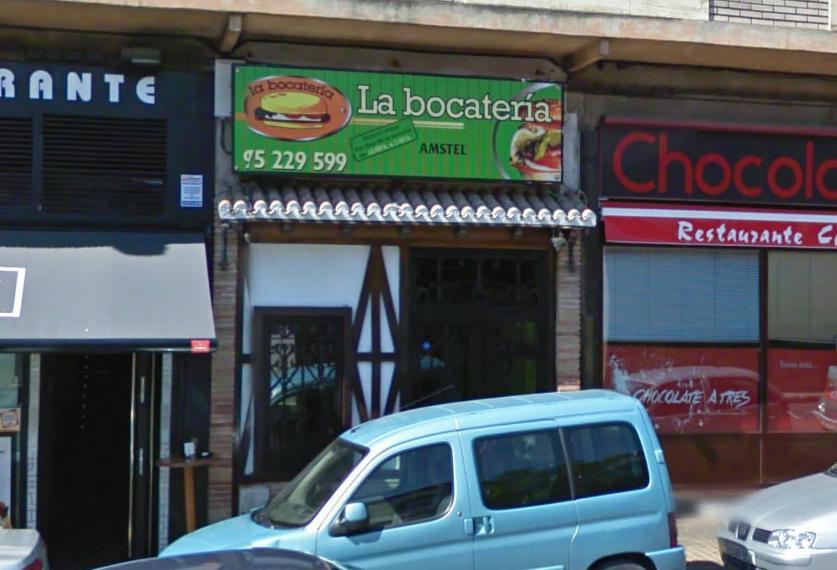 Fachada de la Bocatería de Soria