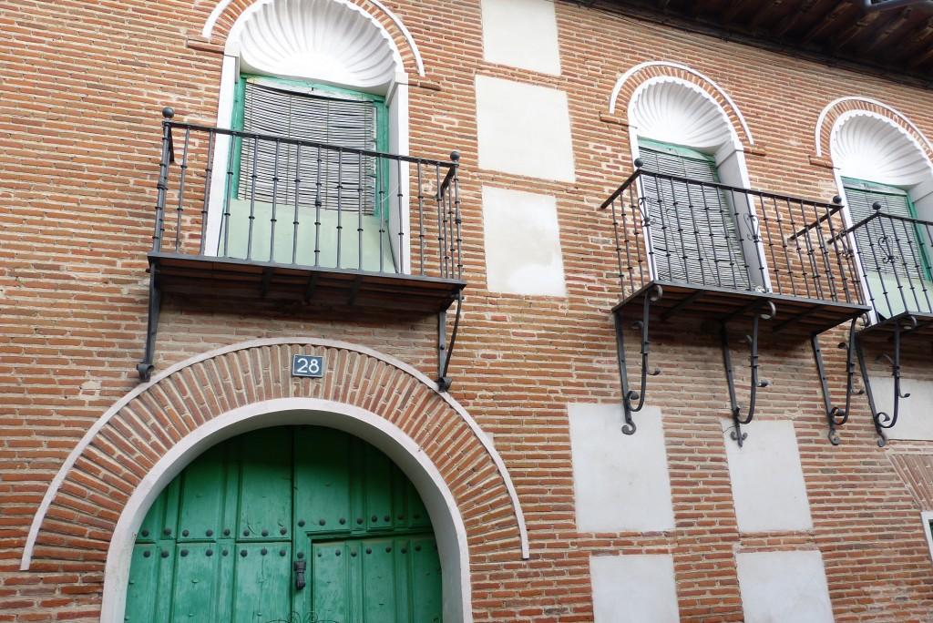 Casa de las conchas en la Calle Zabacos