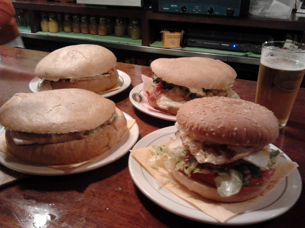 Nuestra cena en la 'Bocatería' de Soria