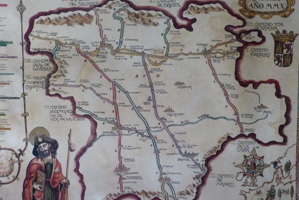 Caminos de Santiago por Castilla y León