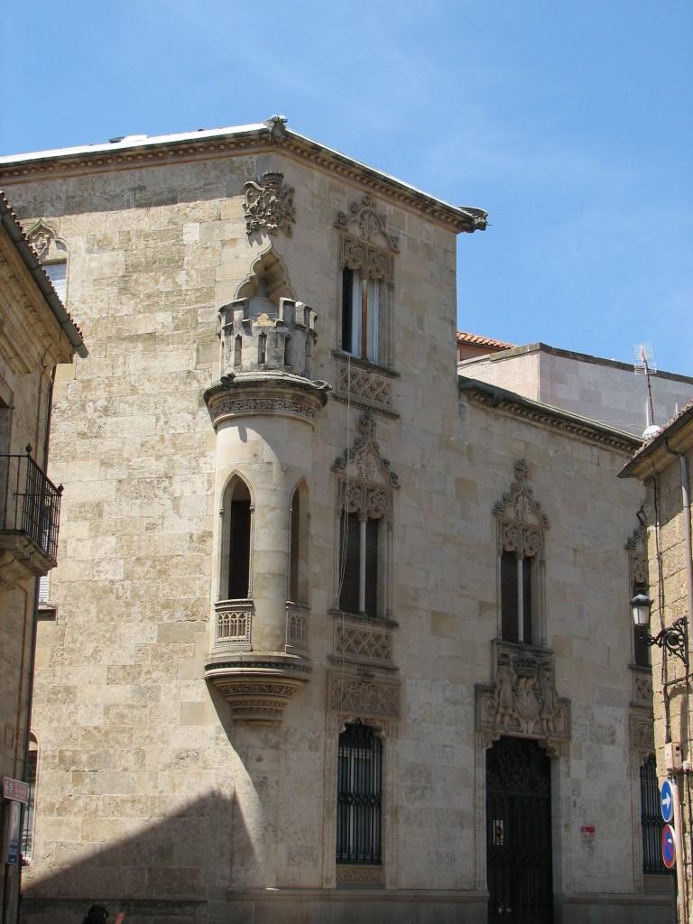 Palacio Neogótico de los Marqueses de Cartago - Foto cortesía de albtotxo