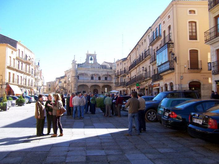 Plaza Mayor de Ciudad Rodrigo - Foto cortesía de Fernan alcoba